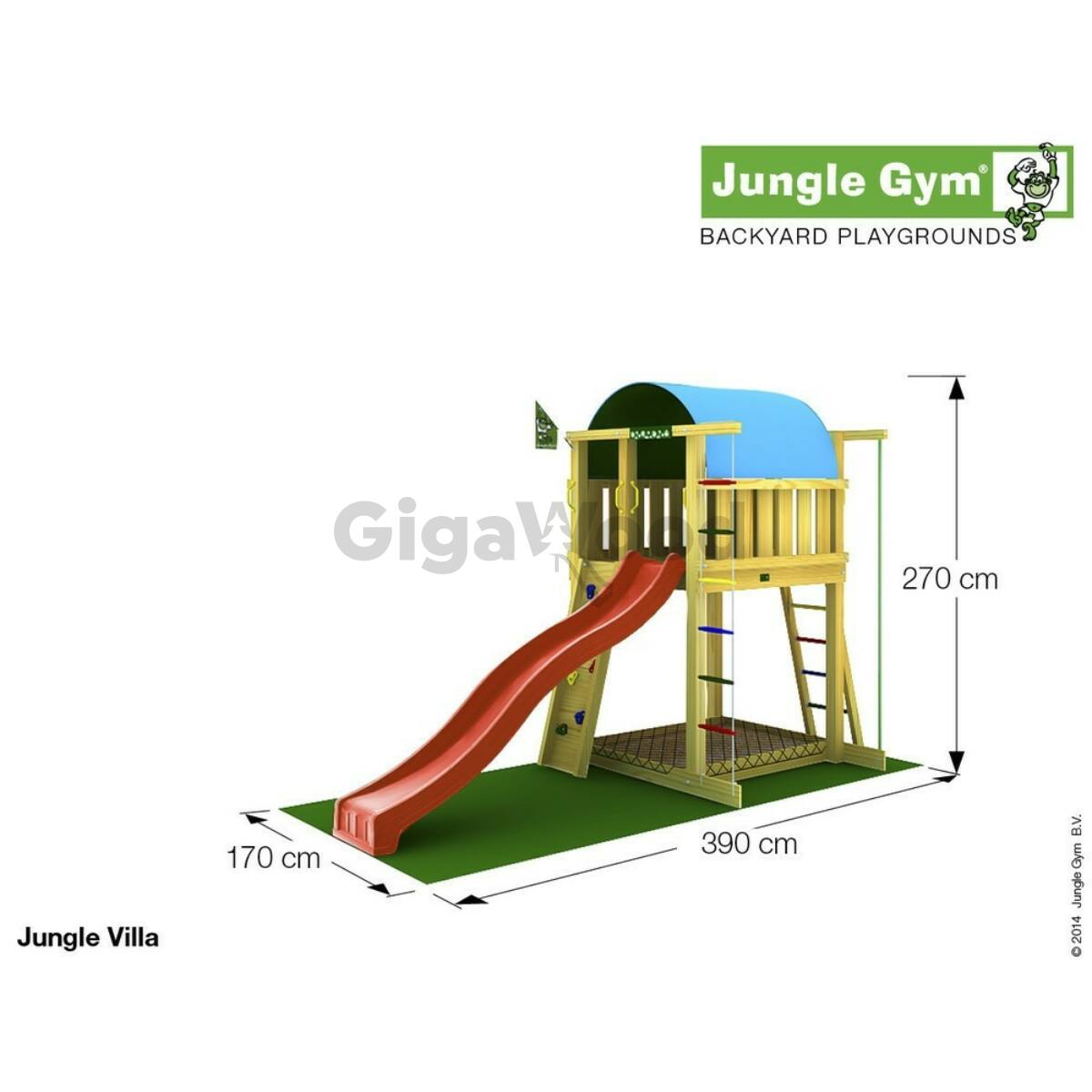 jungle gym villa jungle gym komplett j tsz terek gigawood webshop tel tett kerti fa s. Black Bedroom Furniture Sets. Home Design Ideas
