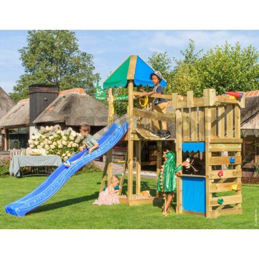 Kerti játszótér - Jungle Gym Explorer dupla torony csúszdával