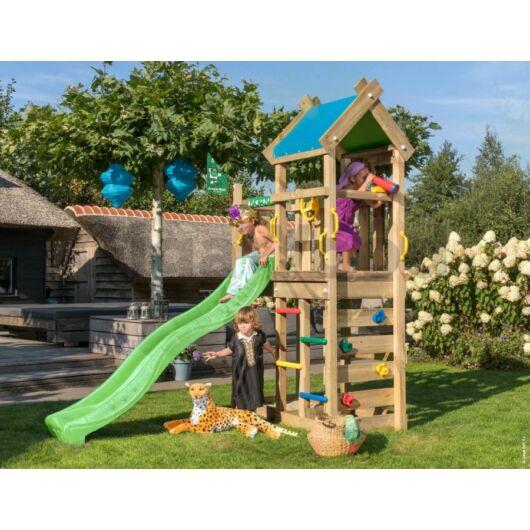 Kerti játszótér - Jungle Gym Nomad torony csúszdával