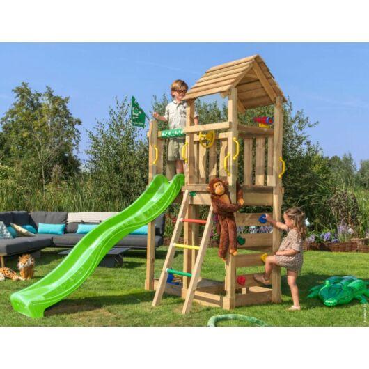 Kerti játszótér - Jungle Gym Safari torony csúszdával