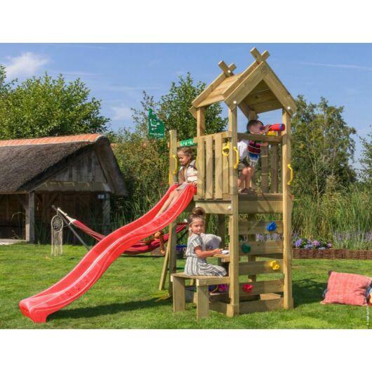 Kerti játszótér - Jungle Gym Teepee torony csúszdával