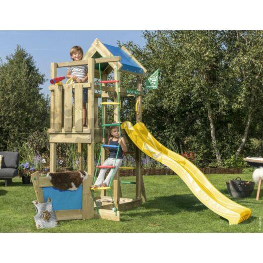 Kerti játszótér - Jungle Gym Viking torony csúszdával