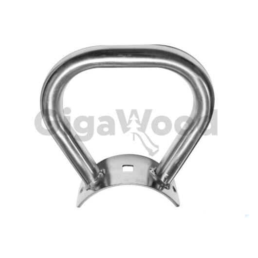 Mérleghinta kapaszkodó rozsdamentes acél, rúdfához 120-140 mm