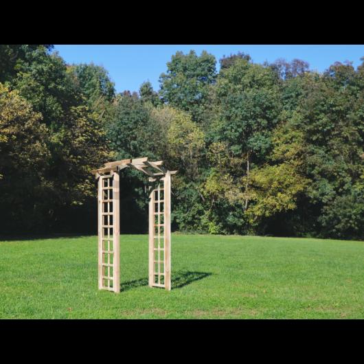 Pergola rózsakapu 120x50x220 cm