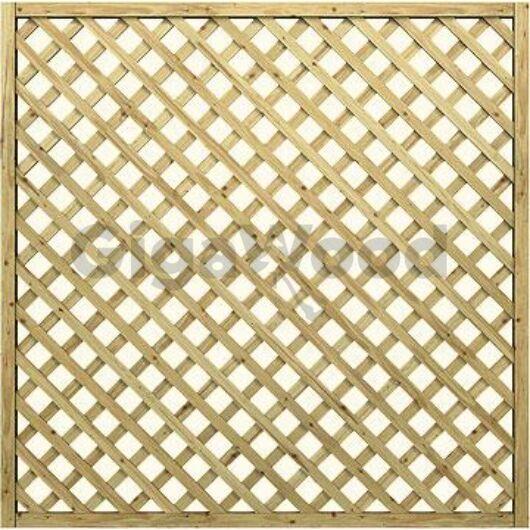 Apácarács Sandra diagonál, egyenes 180x180 cm