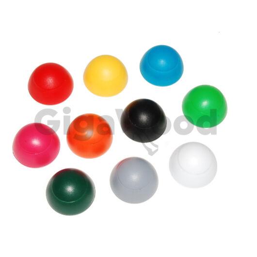 Csavartakaró gomb műanyag 12 mm