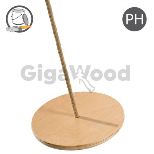 Fa tányérhinta - PH kötéllel ¤30 cm