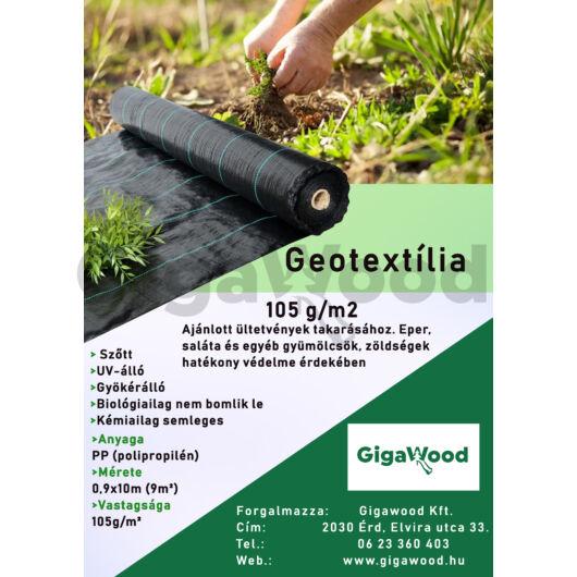 Geotextília PP szőtt 105 gr 0,9x10 m 9m2