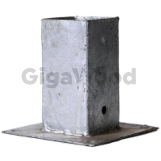 Oszloptartó betonra csavarozható 70x70x150