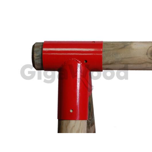Sarokösszekötő elem hintához egyenes-kerek 100/80