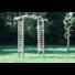 Kép 2/2 - Pergola boltíves 180x70x210 cm