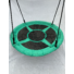 """Kép 3/4 - Fészekhinta """"coaland"""" 1,8 m kötéllel zöld-fekete 160 kg teherbírás!"""